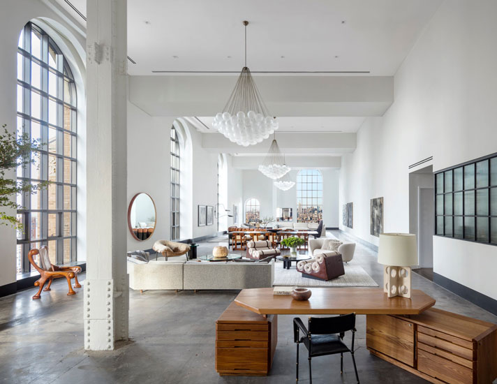 Brad Ford studio and its new york apartment interior design project