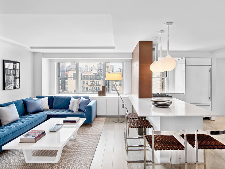 Hariri & Hariri studio one of the top nyc interior designers and its New York apartment interior design project