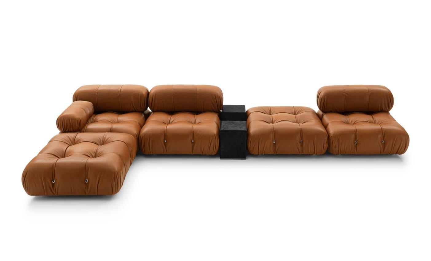 new Camaleonda sofa presente by B&B Italia during Milan design city 2020