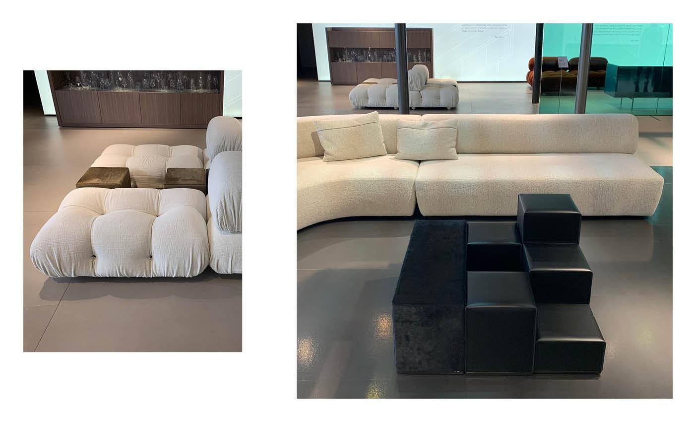 milan design city and B&B Italia showroom