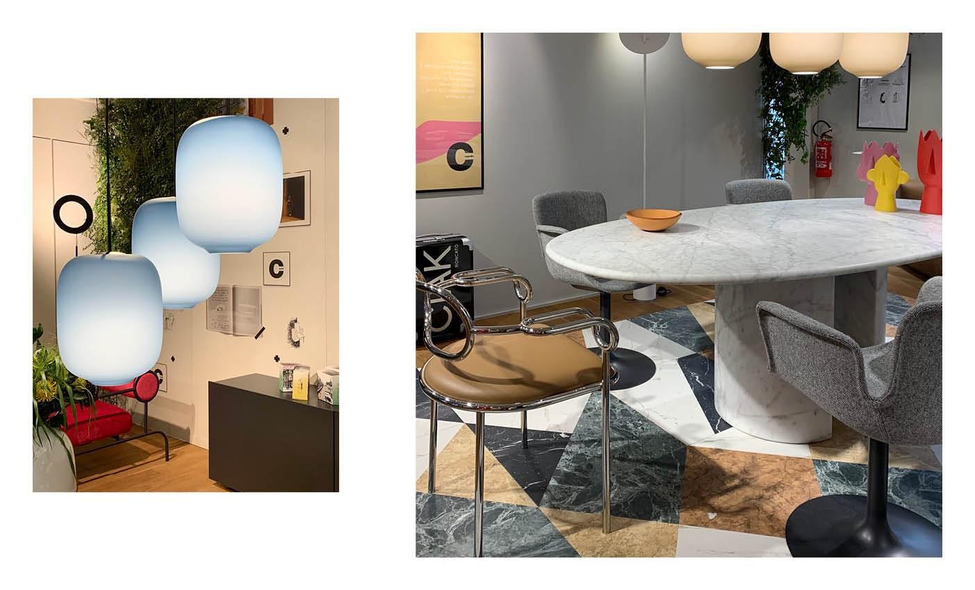 cappellini showroom during milan design city 2020