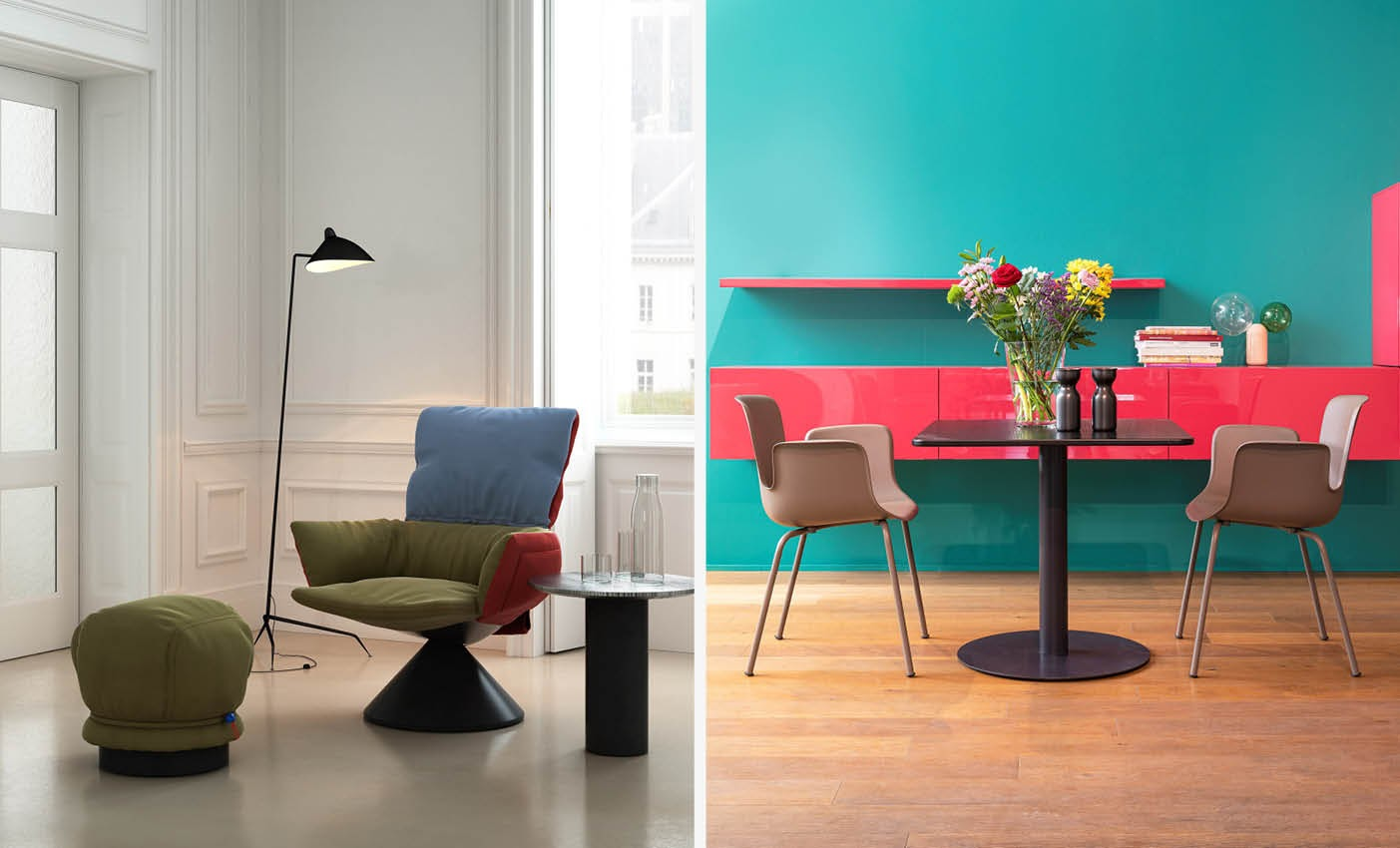 new collection presented by cappellini during Milan design week 2020