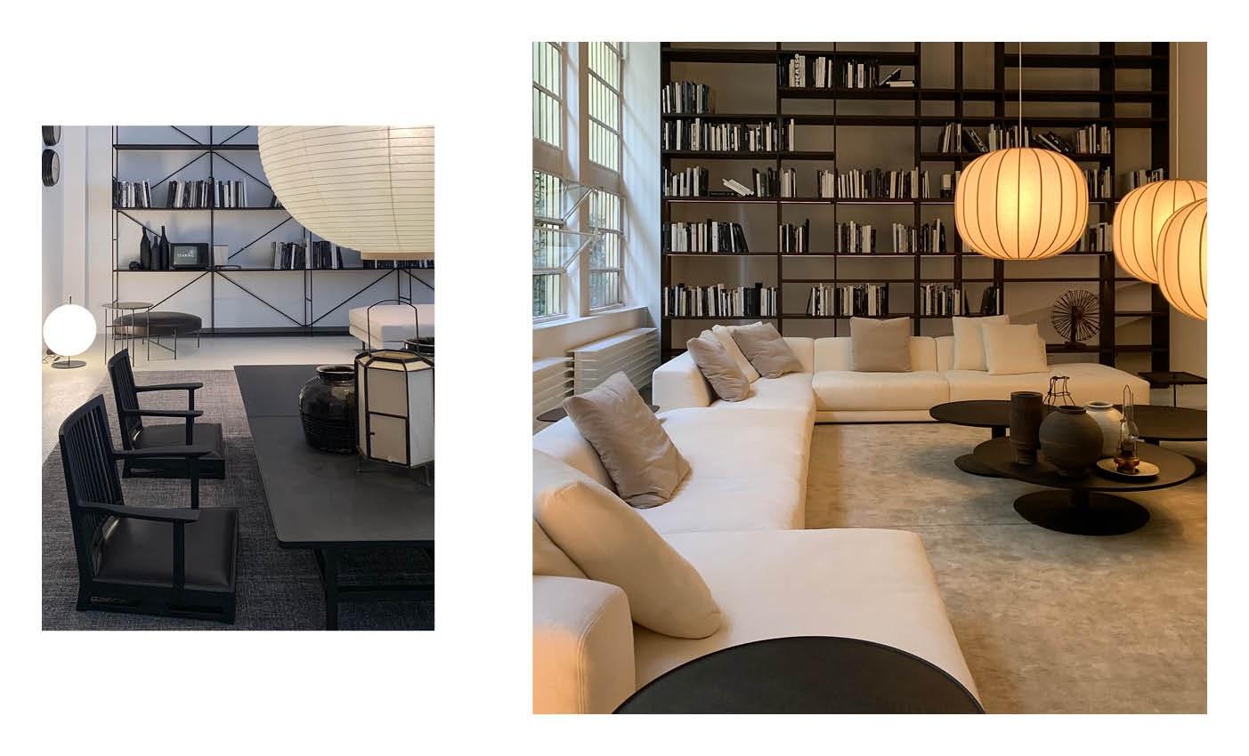 milan design city and de padova showroom