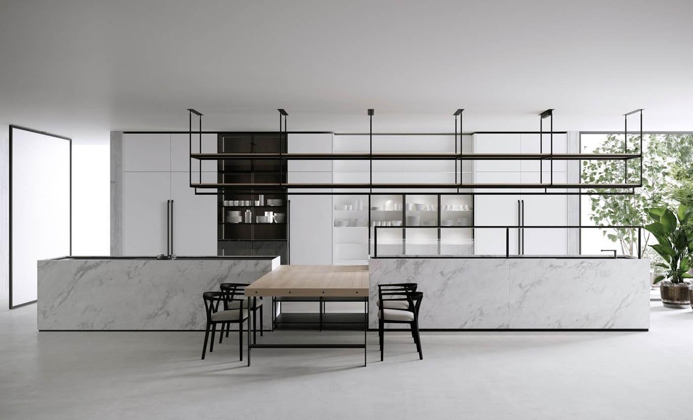 boffi combine kitchen presented during milan design week 2020