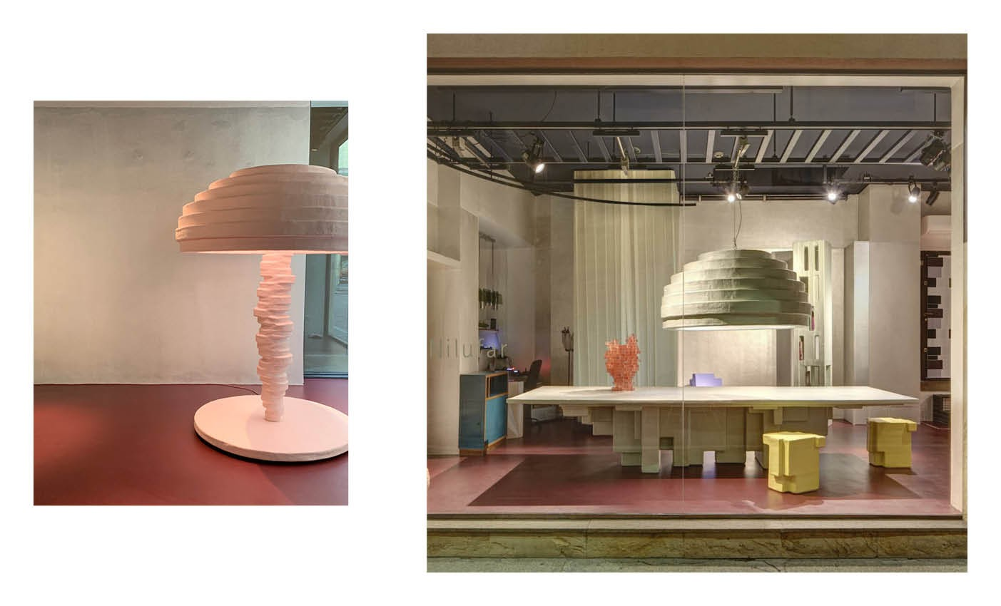 milan design week 2020 and nilufar its all about color exhibition by studio nucleo