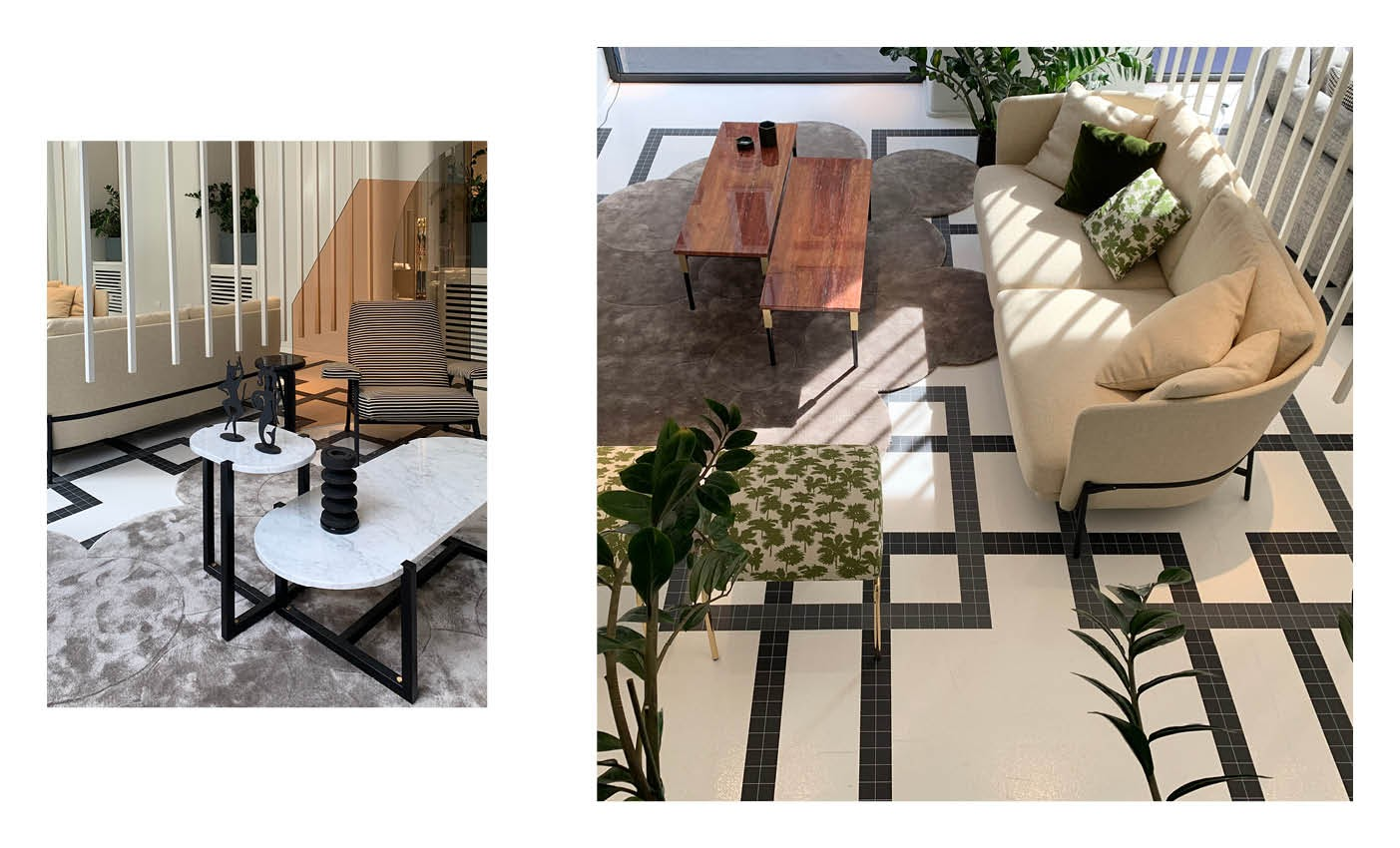milan design week 2020 and arflex collection presented in sag80 showroom