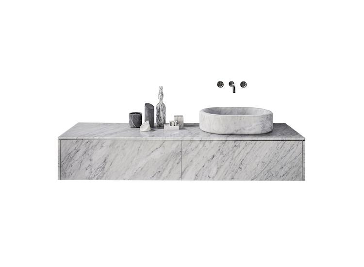 Storage units ideas and Italian style bathroom