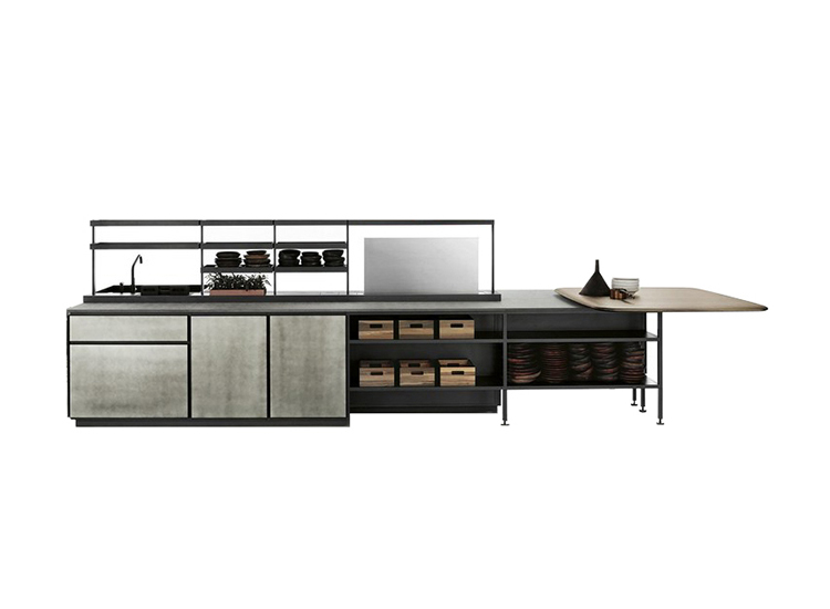 Boffi kitchen composition and luxury modern kitchen design