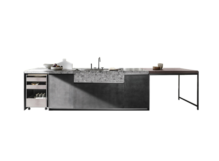 Dada kitchen composition and Italian kitchen design