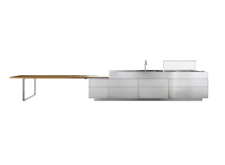 Arclinea kitchen composition and Italian kitchen design
