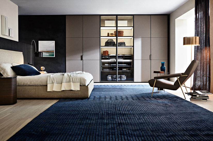 Gliss Master Molteni closets and new doors cover in eco skin