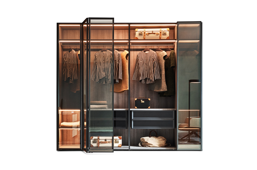 Molteni wardrobes and sistema 7 folding system