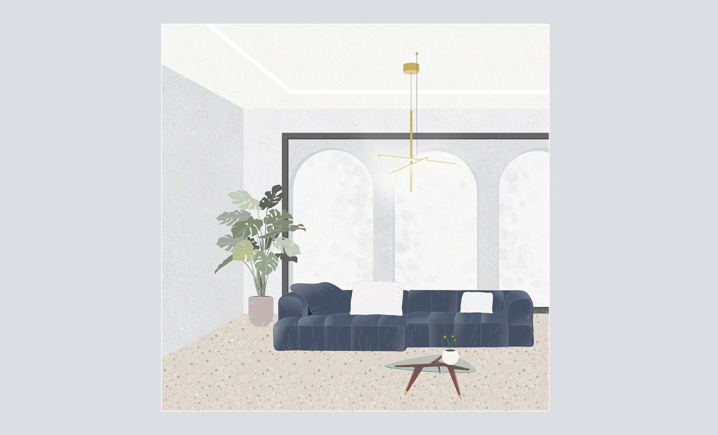 Arflex sofas inspirations made by Esperiri