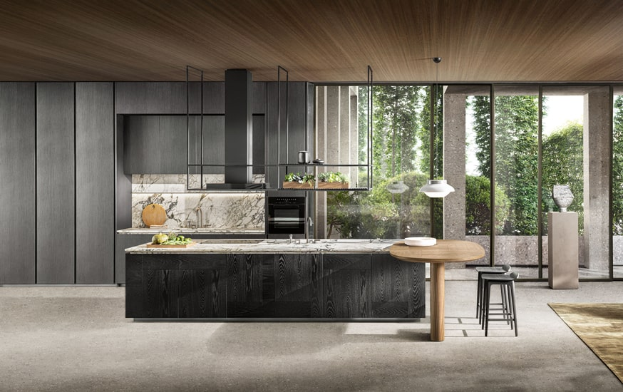 Molteni kitchens and Intersection model designed by Vincent Van Duysen