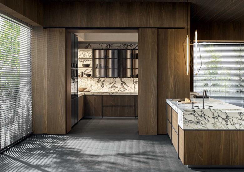 Molteni kitchens Ratio collection