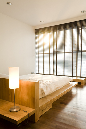 All Wood Apartment designed by Anghin Architecture, one of the best Interior Designer Bangkok has to Offer