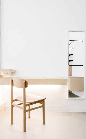 A Neutral Color Aesthetic for This Hostel Project Designed by one of the Top Interior Design firm in Bangkok