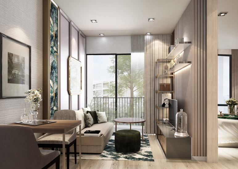 Luxury Compact Apartment in Bangkok designed by one of the Top Interior Design Firm in Bangkok