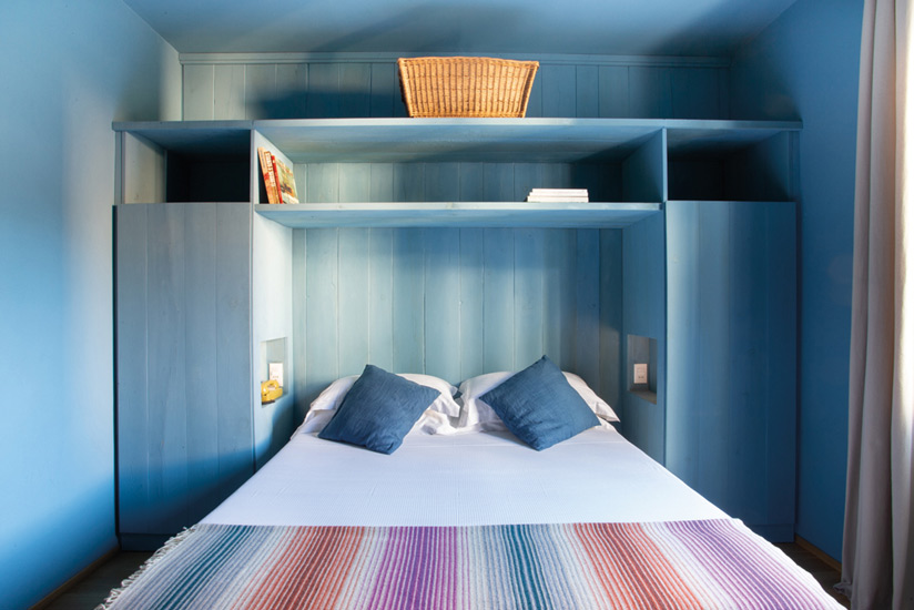 Blue-textures of one of the best Boutique Hotels in Italy: Blu di Te House in Santa Margherita Ligure.