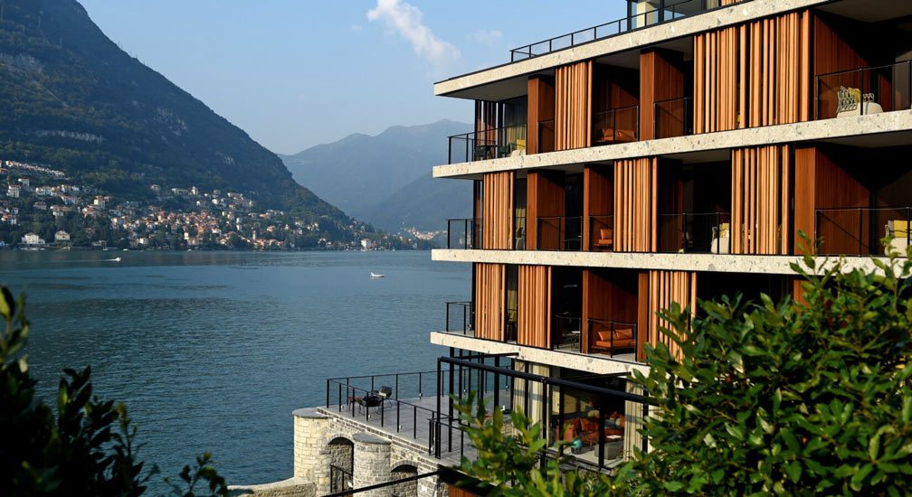 Design Hotels Italy Edition: Hotel Il Sereno, panoramic view of Lake Como