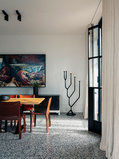 Dining Area designed by Richard Stanish, one of the Design studios we selected in our list of the top interior designers Sydney has to offer
