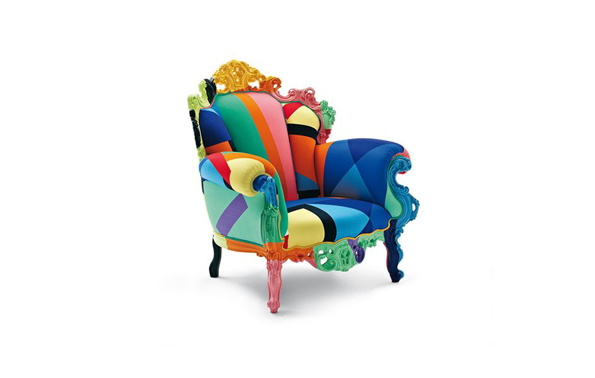 The most Iconic Armchair: Proust by Alessandro Mendini for Cappellini, one of the best Luxury Italian furniture Melbourne has to offer.