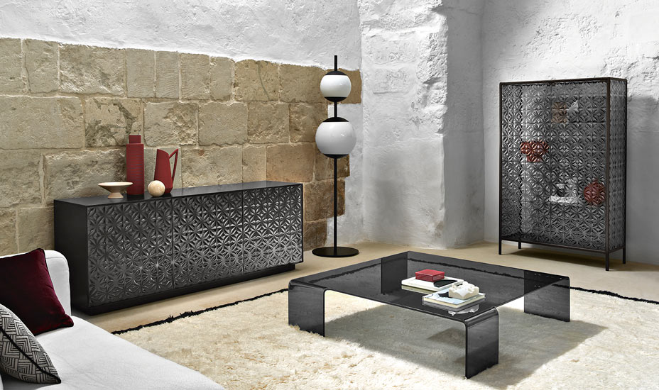 The new collection of shaping glass furniture by Marcel Wanders for Fiam Italia, one of the best Luxury Italian furniture Melbourne has to offer.