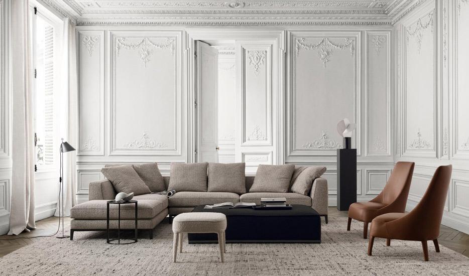 Maxalto Heritage Perspectives collection by Antonio Citterio. Italian Furniture Melbourne