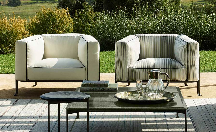 Outdoor Collection 2021 by B&B Italia, one of the best Luxury Italian furniture Melbourne has to offer.
