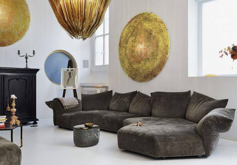 The Standard Sofa by Francesco Binfarè  for Edra, one of the best Luxury Italian furniture Melbourne has to offer.