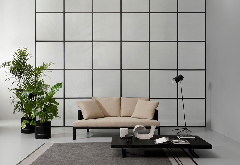 Curry Sofa designed by Piero Lissoni for Porro, one of the best Luxury Italian furniture Melbourne has to offer.