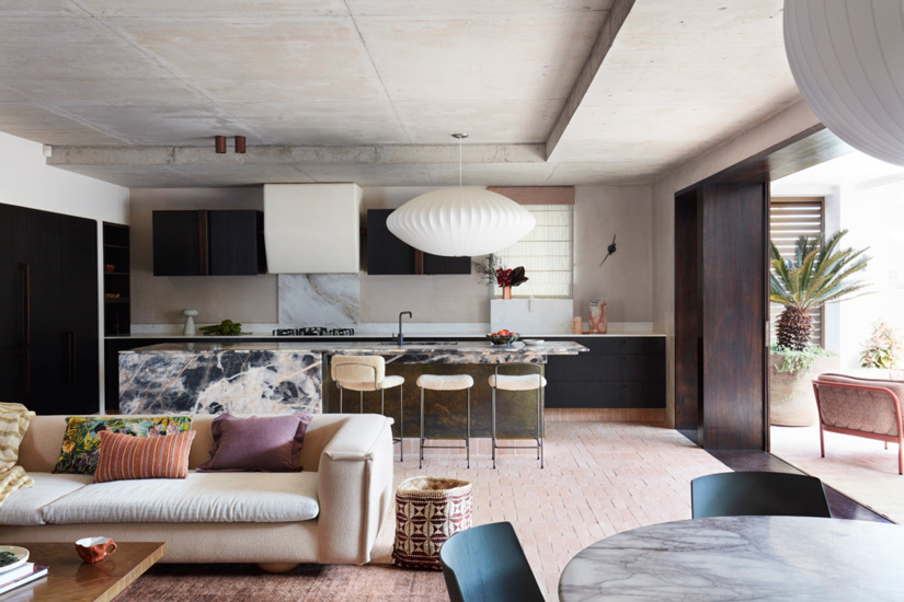 """Bold and characterful approach of the project """"Budge Over Dover"""" designed by YSG, one of the Design studios we selected in our list of the top interior designers Sydney has to offer"""