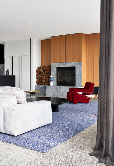 Living Room designed by Fiona Lynch, one of the design studios we selected in our list of the best interior designers melbourne has to offer