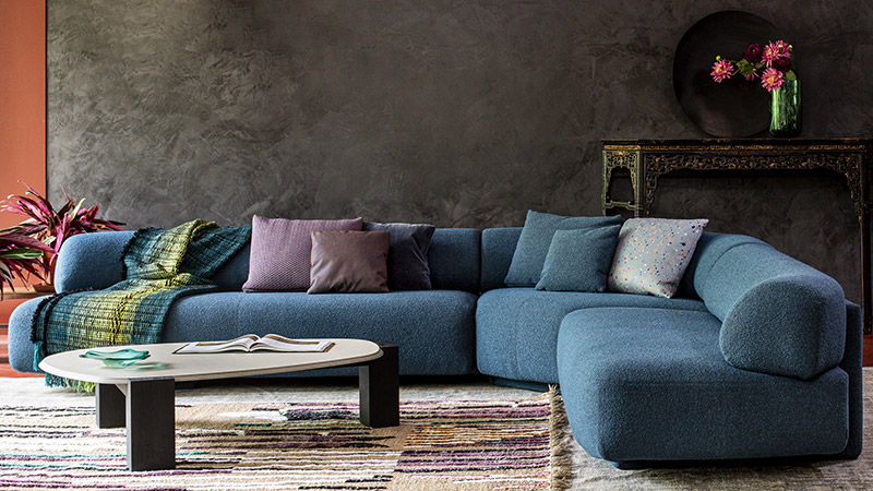 Gogan Sofa by Patricia Urquiola for Moroso. Discover the finest italian furniture in Sydney, Australia