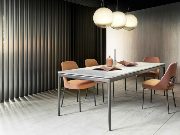 Dining tables collection by Flexform, one of the best italian furniture Sydney has to offer