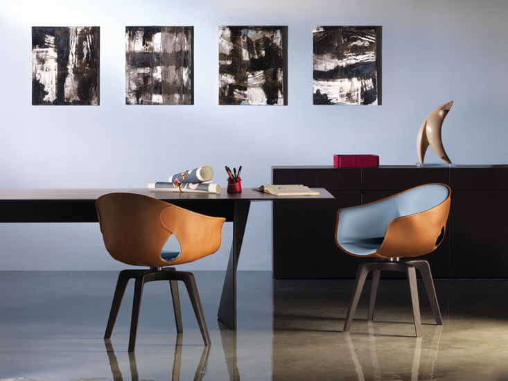 Dining room or Meeting room ideas with Poltrona Frau. Discover the finest italian luxury furniture Sydney has to offer