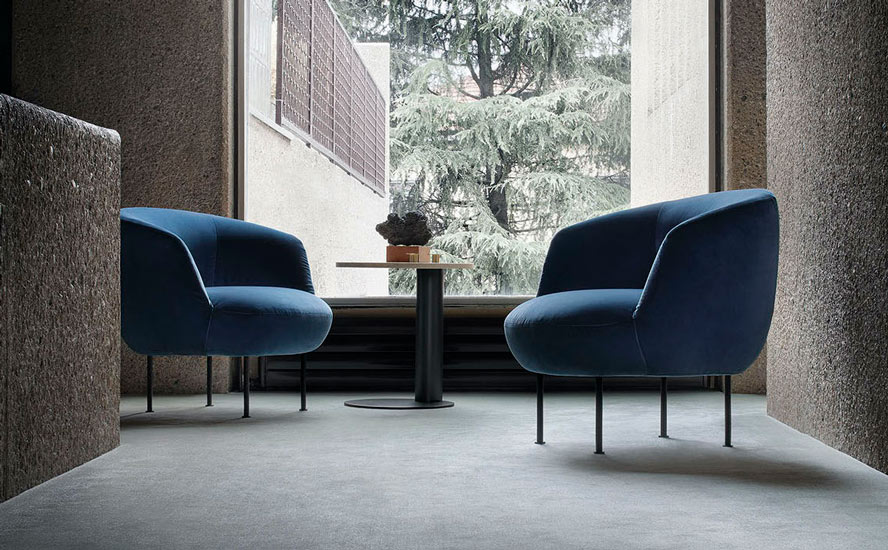 Suppli armchair by Arflex, one of the best and finest luxury furniture Sydney has to offer