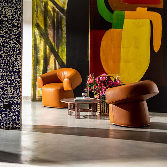 Ruff Armchair designed by Patricia Urquiola, one of the most talented designers at Moroso. This brand and more italian furniture brands can be found in Sydney. discover the finest luxury furniture Sydney has to offer