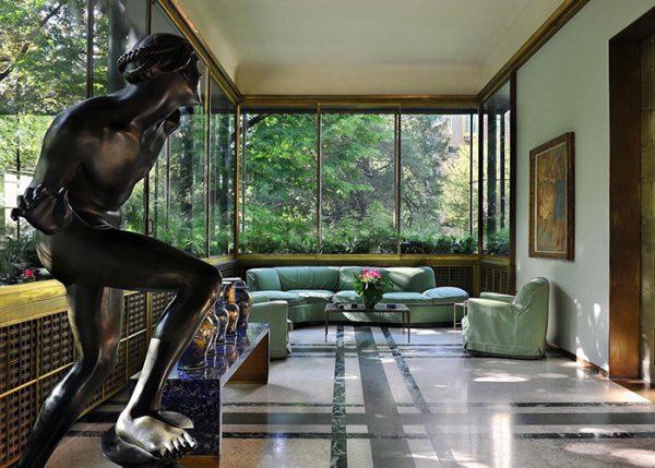 Villa Necchi Campiglio, designed by Piero Portaluppi, the great Master of Milanese Architecture