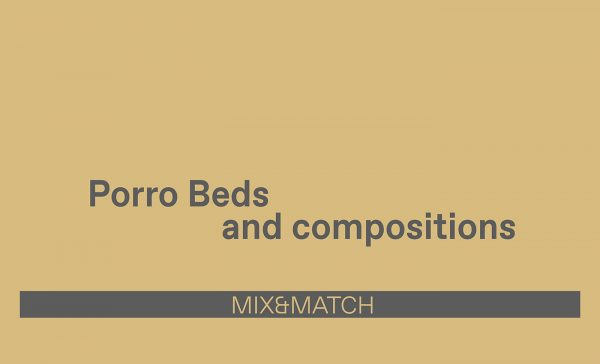Porro Beds and compositions by Esperiri Milano