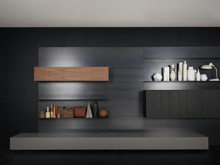 Porro Modern Wall Cabinets System Esperiri Milano